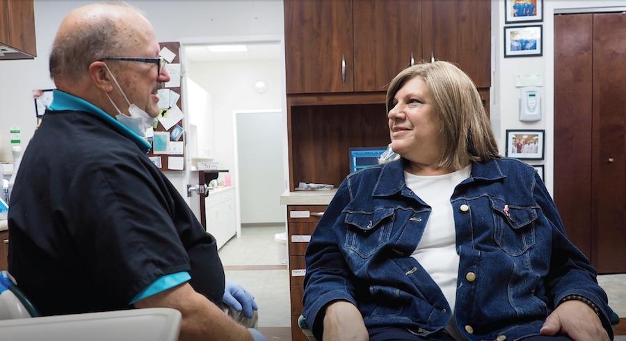 Joanne Davie and Dentist